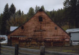 Lumber mill barn