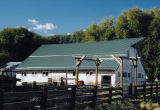 Metal roof barn