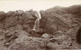 Water Falls near Mt. Stuart, Washington State, circa 1900-1909