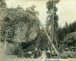 Hanging Rock, Kittitas Valley, Washington State, 2 of 2, circa 1900-1909