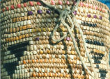 Handwoven Indian basket