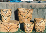 Mountain with quail baskets