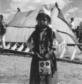 A young Wanapum Indian girl