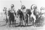 Five Yakima Indian men