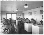 Ellensburg Air Base, cadets in class, Kittitas County, Washington, 1942