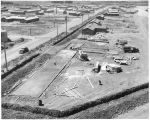 Ellensburg Air Base, building foundation construction, July 17, 1943