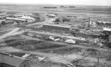 Ellensburg Air Base, continuing construction, looking north from water tower, June 8, 1943