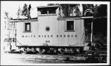 White River Branch 001, caboose
