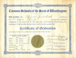 8th grade graduation certificate