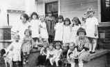Kindergarten church class, Grandview, Washington, circa 1920-1925