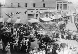 Grandview's first public celebration, July 4, 1916