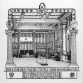 Inner chamber, Masonic temple, Yakima, Washington