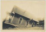 House destroyed from flood, Kalama, Washington, circa 1850-1900