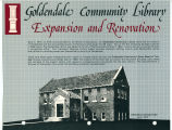 Goldendale Community Library expansion and renovation, circa 1984