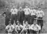 Fort Spokane baseball team, ca. 1910