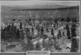 Old Fort Spokane in 1880s