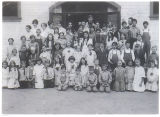 Peach School class photo, 1919