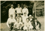 Lopez Island Baseball Team, at Orcas, 1935