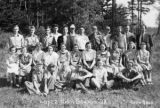 Lopez High School students, Port Stanley, 1938