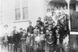Lopez School, students & teacher(s), circa 1910?