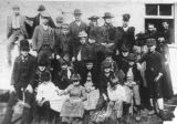 Port Stanley School children & teacher, 1890