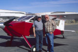 Carl Hanson and his plane Belligham,Washington c. 1997-1998