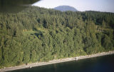 Carl Hanson aerial photography Lummi Island, Washington 1971