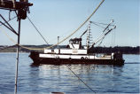 Buyer boat Chief Kwina, Lummi Island, Washington, 1982