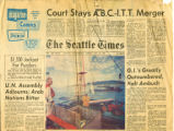 """Busy Reef Netters Borrow Trick From Indians - With New Touches,"" Seattle Times article..."