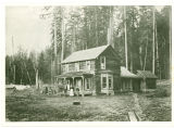 Louis J. Sinnes home, South Fork Nooksack River, 1903