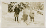 Skiing on the Nesset Farm, 1929
