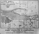 Dann Bros. Map of Port Angeles