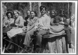 Elwha group portrait, Clallam county, Washington