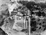 Aerial view of Carlsborg Mill, Washington