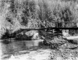 Early Dungeness Bridge, Clallam county, Washington, 2 of 2