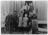 Second Elwha School class portrait, Clallam county, Washington