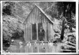 Olympic Hot Springs bathhouse, Clallam County, Washington 1916