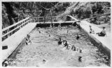 Olympic Hot Springs pool, Clallam county, Washington 1 of 2