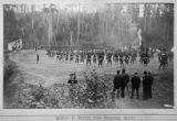 Soldiers Drill at Morse Creek