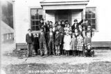 Neah Bay School and class 1