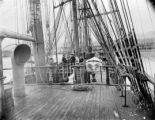 Sailing ship deck
