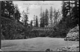 Upper Elwha bridge, Clallam county, Washington 5 of 14