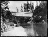 Upper Elwha bridge, Clallam county, Washington 13 of 14
