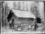 Smiths and cabin, Clallam County, Washington