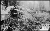 Lower Elwha Dam camp, Clallam county, Washington 1 of 2