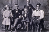 Wells family, Whatcom County, Washington, circa 1900