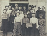 Everson High School class photo, Everson, Washington, May, 1904