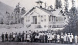Kendall School, Whatcom County, Washington, 1920