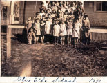 Glen Echo School class photo, Whatcom County, Washington, 1932
