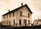 Hotel in Nooksack, Washington, 1920